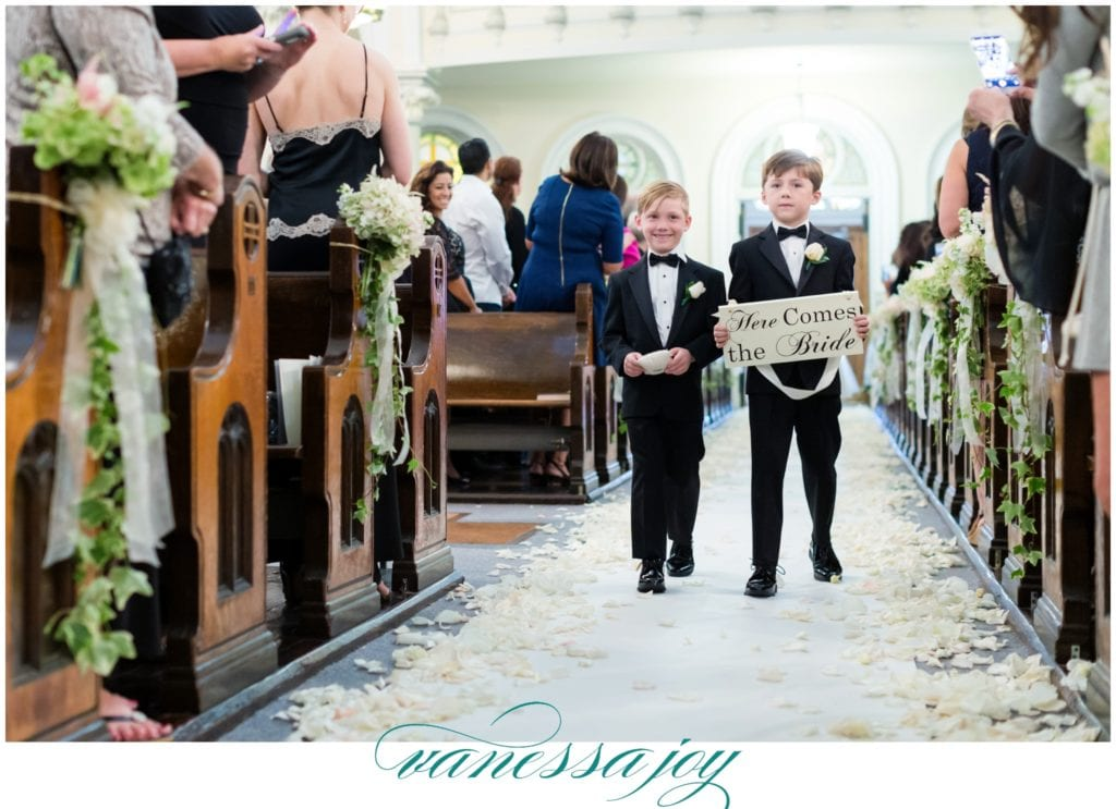 ring bearer sign ideas