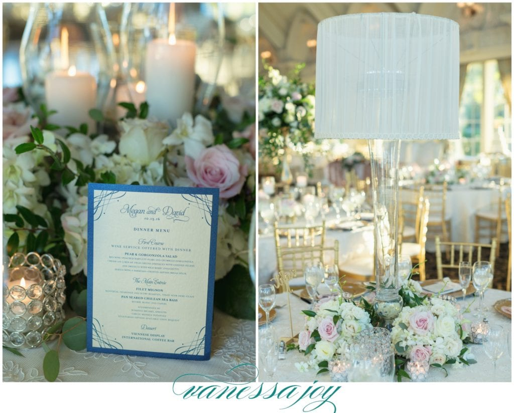 lamp center pieces for weddings