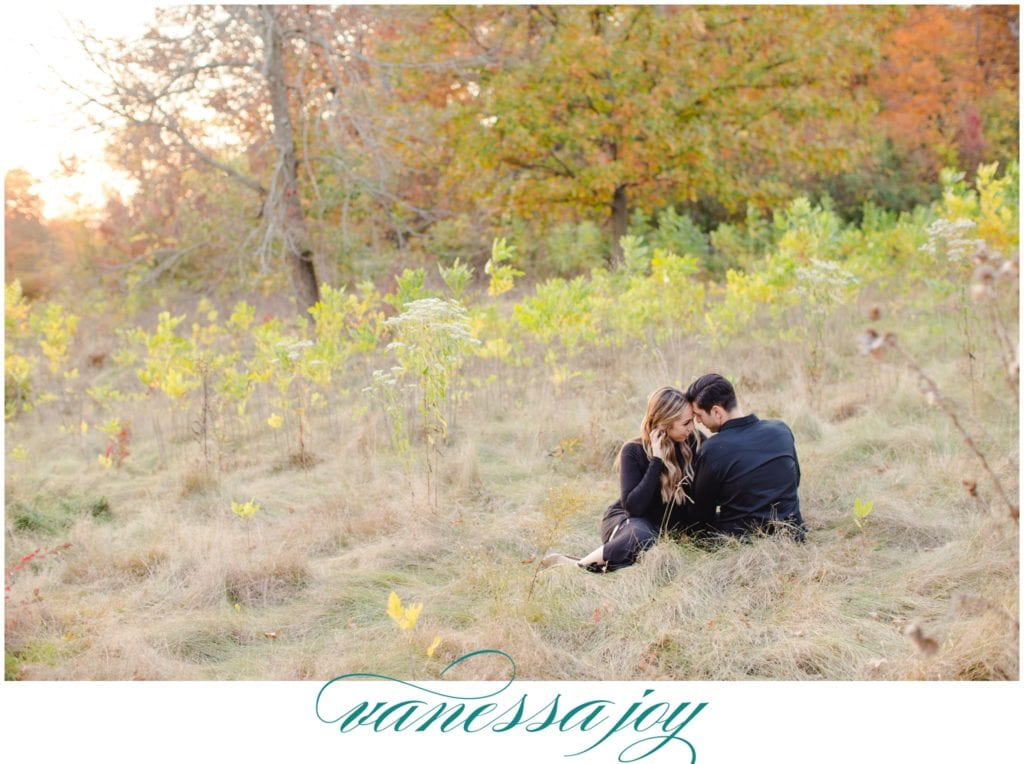 Duke farms engagement photos