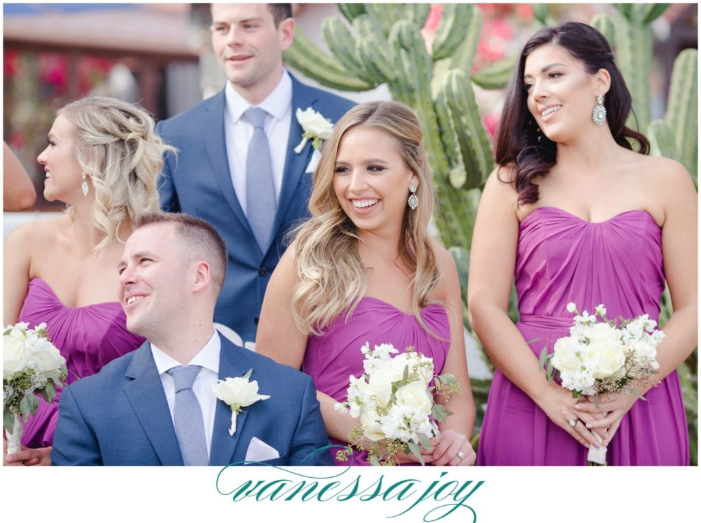 Fuschia and Cactus Bridal Party