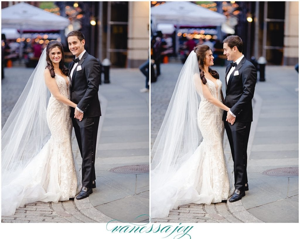 street fair wedding photos in New York