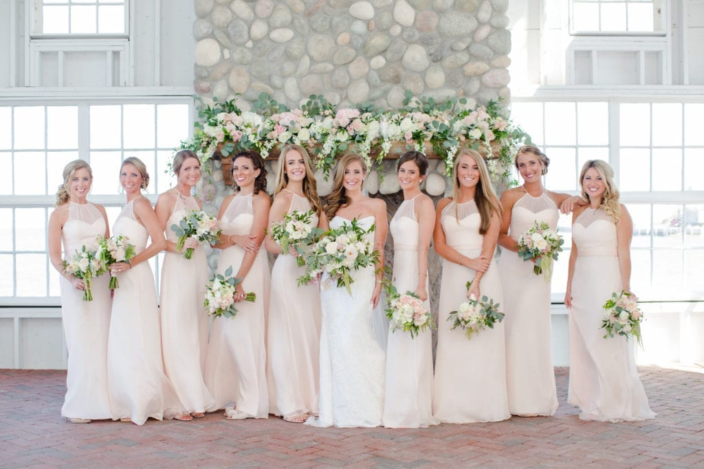 mallard island wedding, blush pink wedding ideas