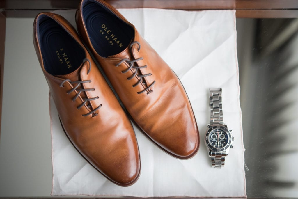 Cole Haan wedding shoes