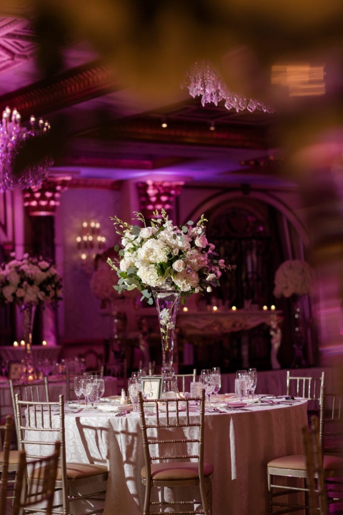 The Venetian New Jersey, wedding decor