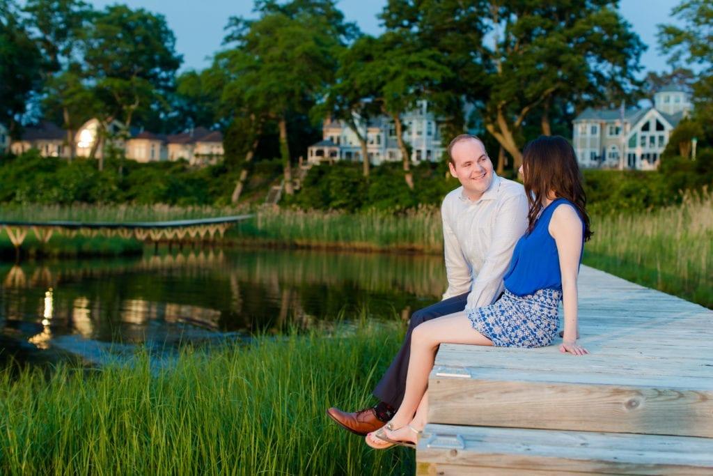 Jersey Shore Engagement Session; nj engagement session