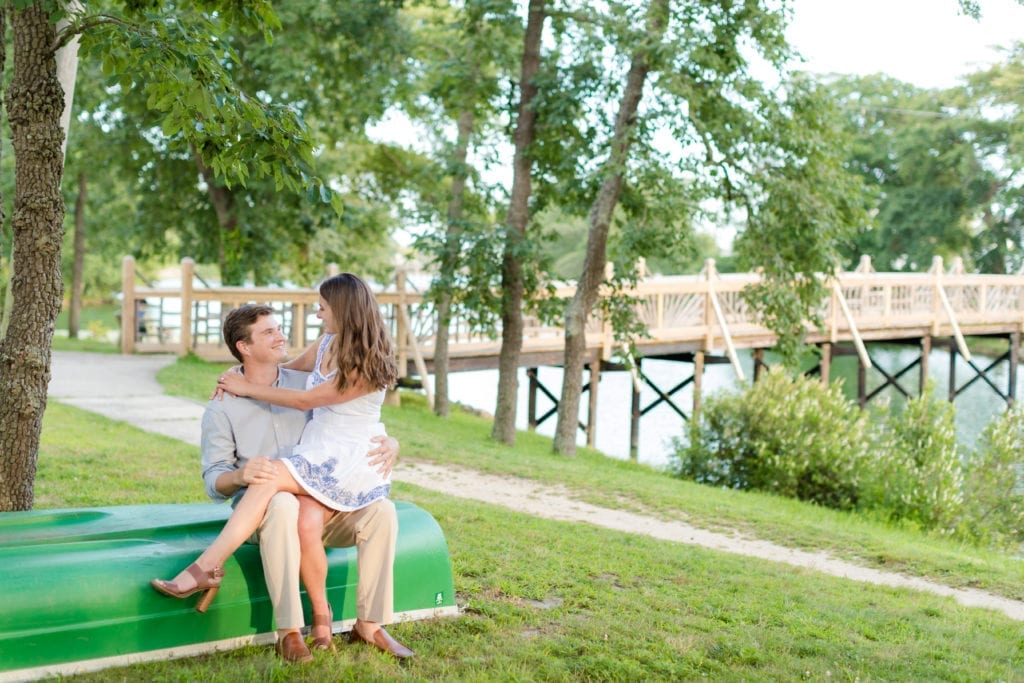 Park engagement sessions, Spring Lake New Jersey